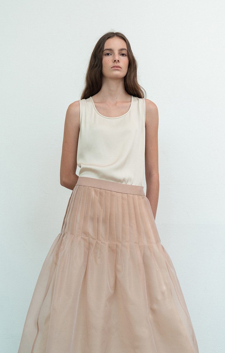 Silk Organza Skirt
