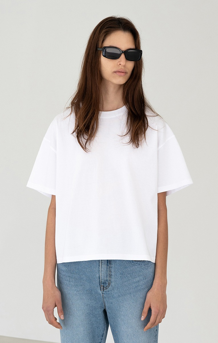 GIA COTTON T SHIRT (WHITE)